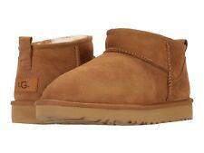 Para mujeres Zapatos UGG Classic Ultra Mini Ii De Piel De Oveja Botas al Tobillo 1116109 Castaño