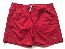 Saturdays Surf NYC Timothy Checkerboard Mid Length Swim Shorts. Size L.