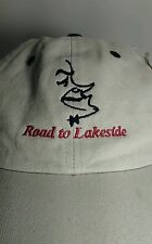 Bob Hope Road to Lakeside  Golf 44th Annual President's Inv. Khaki Cap