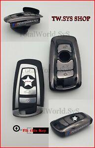 Key Case Cover for BMW ☆ Full Shell ☆ F10,20,30 ☆ ABS-Plastic ☆ Keyless ☆ BLACK