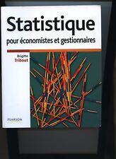 B TRIBOUT Statistique pour économistes et gestionnaires Pearson 2007