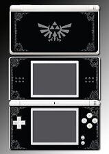 Legend Zelda Grey Black Special Edition Game Decal Skin Cover Nintendo DS Lite
