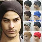 pour hommes femmes laine tricotée hiver Slouch surdimensionné Bonnet skateboard