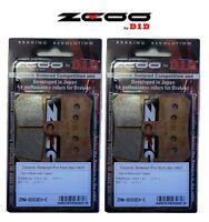 Zcoo 2 Parejas Pastillas Freno Delantero Ex-C Para Yamaha YZF R1 1000 2011 2012