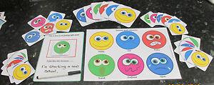 Emotions communication flash cards, encourage good behaviour~Autism~SEN~Schools~