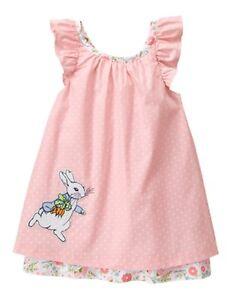 NWT Gymboree Peter Rabbit Pink Dress 0 3 6 12 18mo Baby Girl