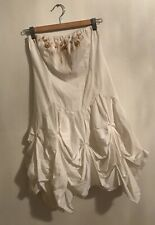 Flavio Castellani Strapless Dress, 40