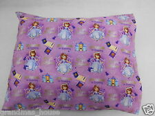 Child Toddler Pillowcase Sofia The First - 100% Cotton - Great Gift Idea