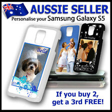 Personalised PHOTO SAMSUNG GALAXY S5 case hard cover PICTURE LOGO customised