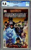 War of the Realms: New Agents of Atlas #1 CGC 9.8 1st appearance of Aero