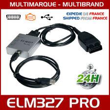 VALISE INTERFACE ELM327 PRO USB VOITURE SCANNER OBD OBD2 DIAGNOSTIC DELPHI VCDS