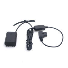Fully Decoded NP-FZ100 Dummy Battery DC Coupler & D-Tap Power Adapter for Sony