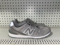 New Balance 696 Womens Suede Athletic Running Shoes Size 8.5 Gray Classics