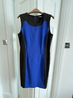 Dress About Size 12 14 Ellen Tracy Blue Black