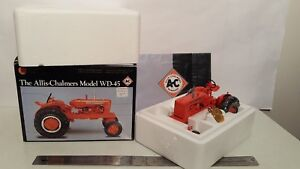 Ertl Allis Chalmers WD45 wf 1/16 diecast metal farm tractor replica collectible