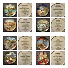 Gerald Mermer's Complete Collection Of American Classics Decorative Plates #1-8