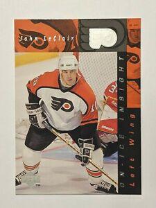 1996-97 Upper Deck On-Ice Insight #368 John LeClair Flyers Hockey Card