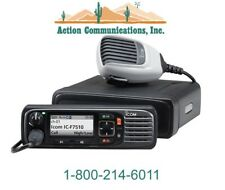NEW ICOM IC-F7510, VHF, 136-174 MHZ, 50 WATT, 1024 CHANNELS, P25 MOBILE RADIO