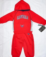 Reebok Washington Capitals Track Suit Boys Jogger Set 18 Months