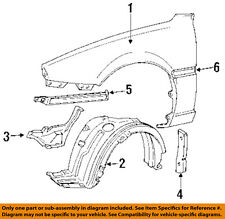 TOYOTA OEM 91-95 MR2 Fender-Rear Molding Left 7561617030
