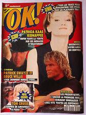 Ok ! âge tendre n°815; Paula Abdul/ P Kaas/ Indra/ Bruce Willis/ Patrick Swayze