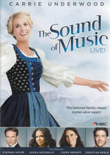 Sound of Music Live 0025192170669 With Carrie Underwood DVD Region 1