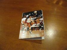 Eastern Washington University 1993 Women's Volleyball Pocket Schedule