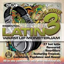 DMC Warm Up Latin Monsterjam Volume 3 Ivan Santana Megamix CD