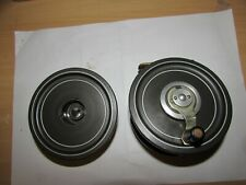 """excellent vintage hardy ocean prince 2 two fly fishing reel + spare spool 3.75"""""""