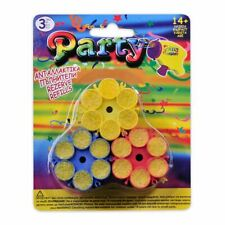 3X Super Party Popper Toy Gun Confetti Cartridges - Safe for Kids