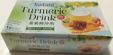 Instant Turmeric Drink With Orange & Honey 10 Sachets Indonesia