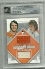 2011-12 ITG Ultimate Collection BILL BARBER / BOBBY CLARKE Jersey 8/24 BV $30