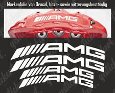 Mercedes AMG Bremssattel Sticker Aufkleber gebogen hitzebeständig Tuning Benz