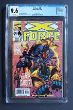 X-FORCE #82 1st Full appear Jesse BEDLAM of Deadpool-2 Movie 1998 CGC NM+ 9.6