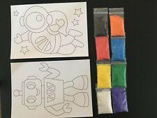 Children's sand art kit