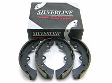 SET OF 4 SILVERLINE UBP 479B REAR RELINED BRAKE SHOES MADE IN USA ( DRUM BRAKE)