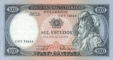 Mozambique P-112 1000 escudos 1972 XF