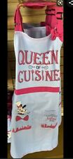 New listing Disney Epcot 2020 Food and Wine Festival Minnie Mouse Queen of Cuisine Apron Nwt
