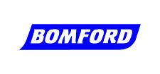 Adesivo BOMFORD, Escavatore con Trattore compatto impianto Tagliasiepi falciatrice-TRITURATRICE