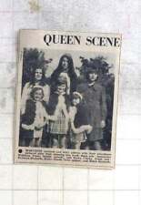 1975 Marazion Carnival Fairy Queen's Antoinette Williams, Debra Goode, Helen Ric