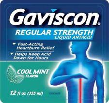 Gaviscon Liquid relives Heartburn Antacid- 12 Oz