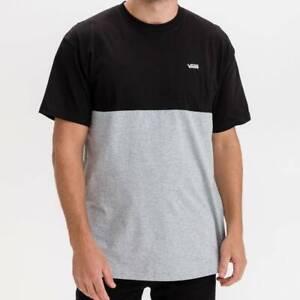 Camisetas Hombre  VANS MN COLORBLOCK TEE COLOR NEGRO BLACK
