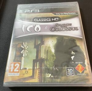 ICO & Shadow of the Colossus Classics HD PS3 Game New Sealed U.K. Playstation 3