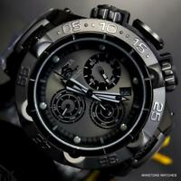 Invicta Subaqua Noma V Black Combat Stainless Steel Chronograph 50mm Watch New