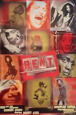 "RENT-BROADWAY MUSICAL POSTER-LONDON STYLE ""A"" 60"" X 40"" ROLLED MINT"