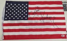Corporal Kirchner Signed 12x18 American Flag BAS Beckett COA WWE USA Autograph