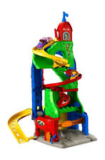 Fisher-Price DFT71 Little People Hochhausrennbahn Spielzeug