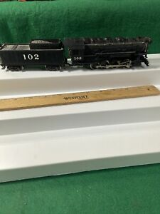 Rivarossi vintage ho steam engine Runs Nice 0-8-0 (KJT429)