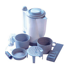 12V TRAVEL KETTLE CUPS /CUTLERY - CAMPING/CARAVAN 700ML