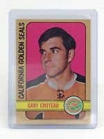 1972-73 Gary Croteau #3 California Golden Seals OPC O-Pee-Chee Hockey Card I187